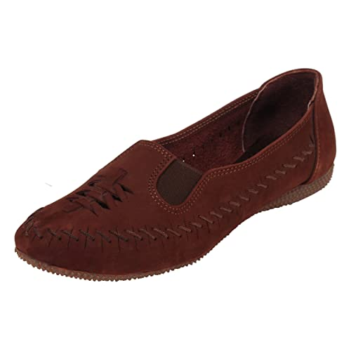 Buy Catwalk Brown Leather Casual Shoes