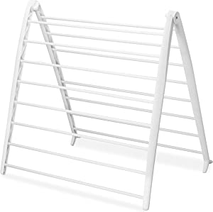 Whitmor Folding White Spacemaker Drying Rack