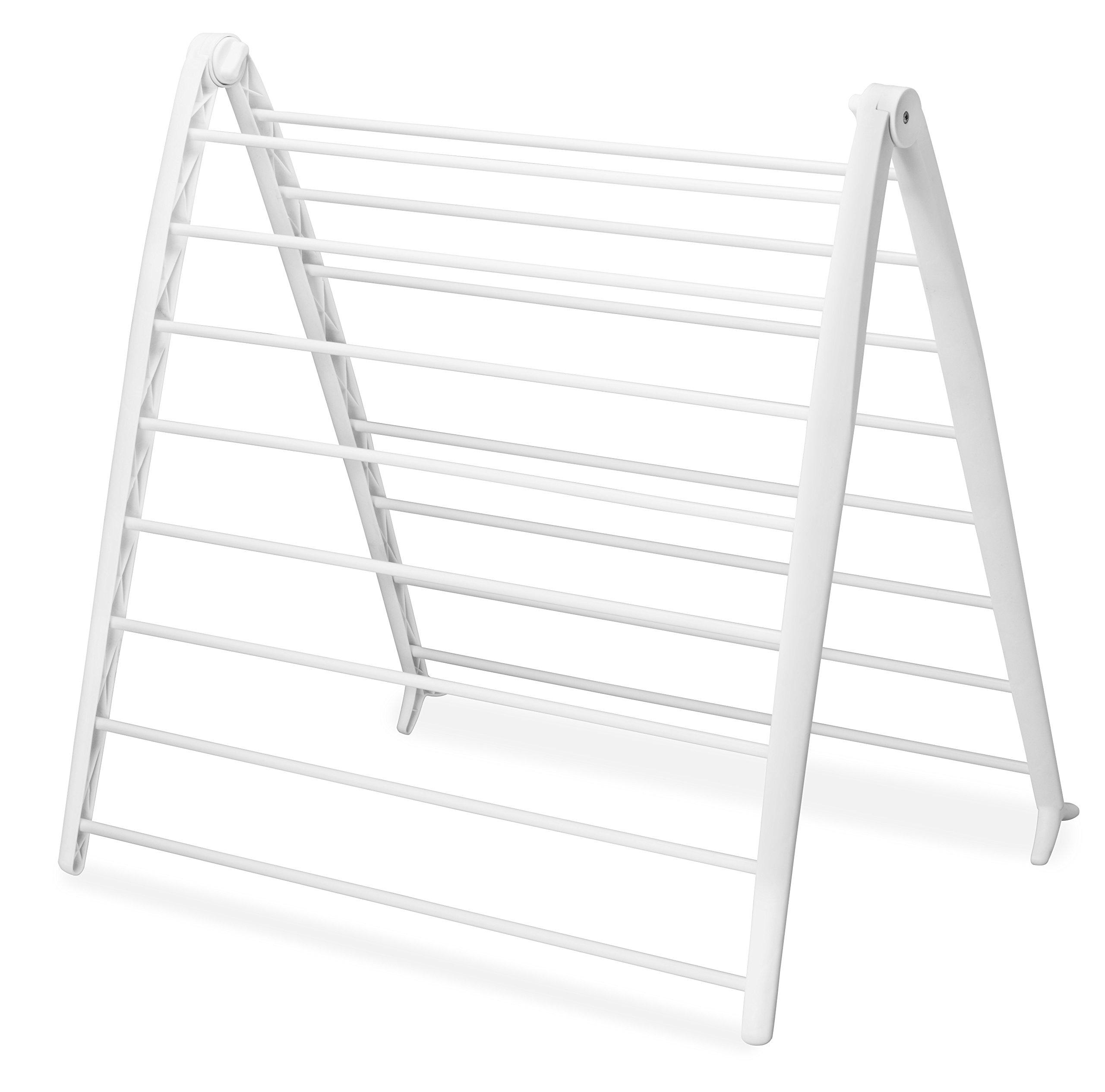 Whitmor Drying Rack, Collapsible, White