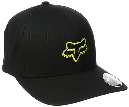 c914f25923d33 Amazon.com  Fox Men s Flex Fit Legacy Logo Hat  Clothing