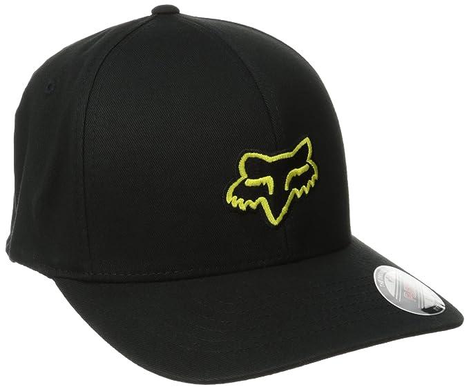 e1a6ff82eb1 Amazon.com  Fox Men s Flex Fit Legacy Logo Hat  Clothing