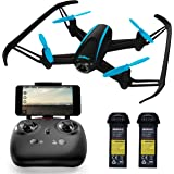 Force1 HD Drone with Camera – RC Camera Drones for Kids & Pros - U34W Dragonfly Drone with Camera Live Video, Altitude Hold & Wi-Fi FPV - Easy to Fly Quadcopter Drones for Beginners