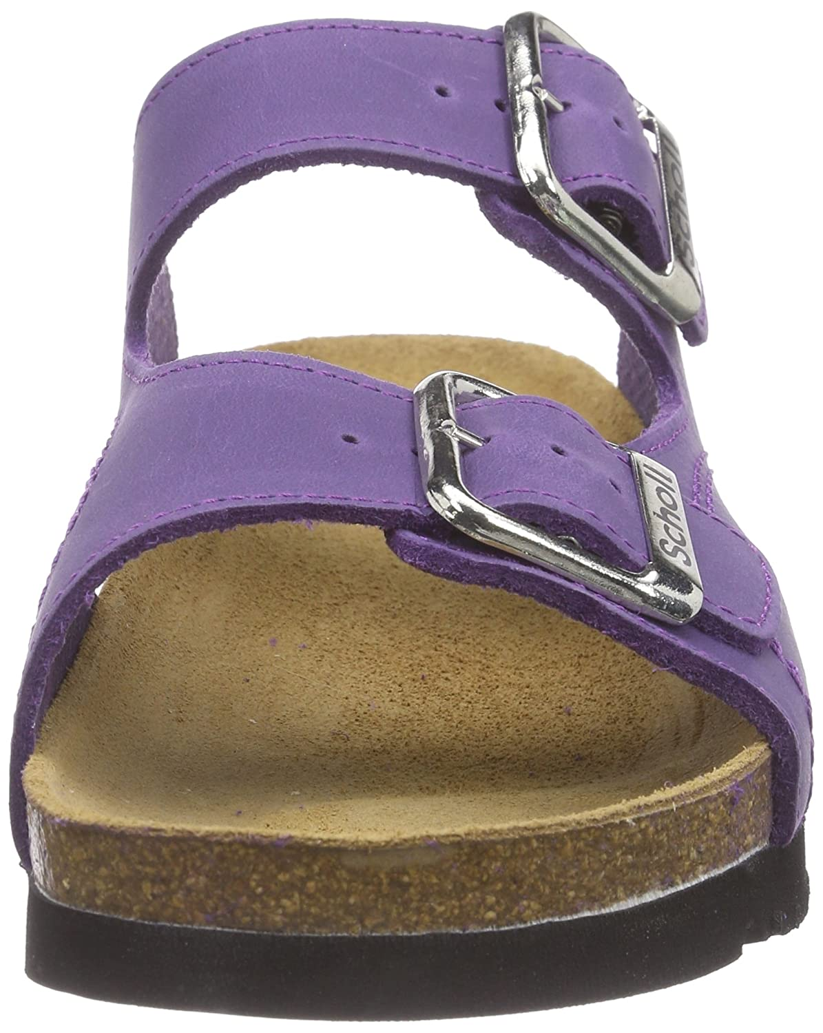 Scholl Womens MOLDAVA WEDGE AD plumb Open Sandals Purple Size 6  Amazoncouk Shoes  Bags