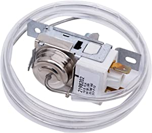 Ultra Durable 2198202 Refrigerator Cold Control Thermostat Replacement by Blue Stars - Exact Fit for Whirlpool & Kenmore Refrigerators - Replaces 2161284 2198201 PS11739232 AP6006166 WP2198202
