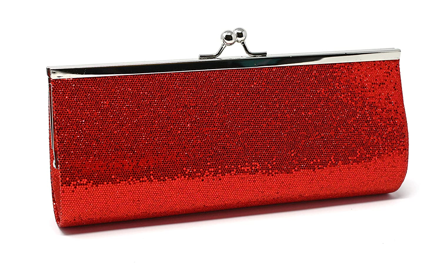 10x4 Vintage Inspired Purse Hey Viv Colorful Glitter Evening Clutch