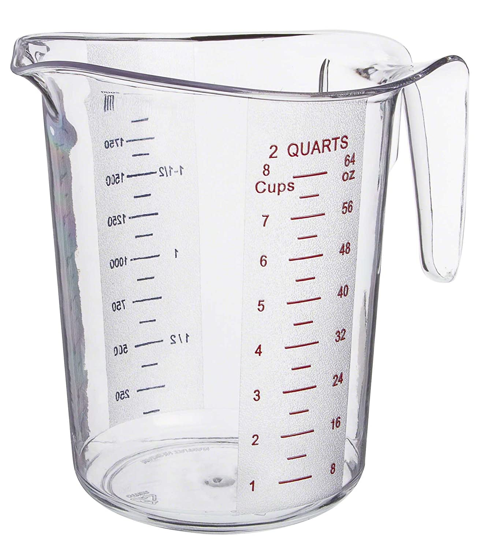 Amazon Update International MEA 200PC 2 Quart Plastic Measuring Cup Industrial Scientific