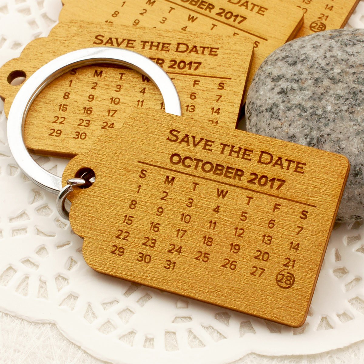 Amazon com : Summer-Ray 50 Personalized Save The Date