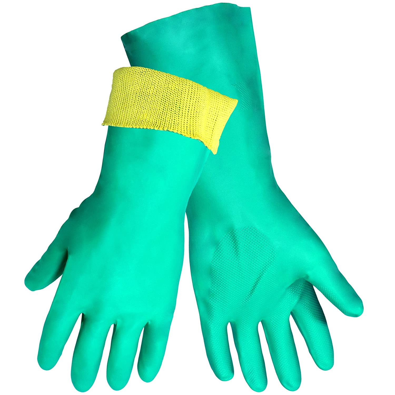Global Glove 515KEV Unsupported Nitrile Glove with Kevlar Liner, Cut Resistant, 8-Medium (Case of 72) by Global Glove B00AIZ663W