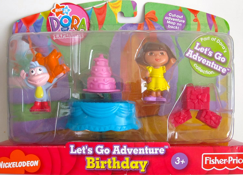 Astonishing Amazon Com Nick Jr Dora The Explorer Lets Go Adventure Funny Birthday Cards Online Alyptdamsfinfo