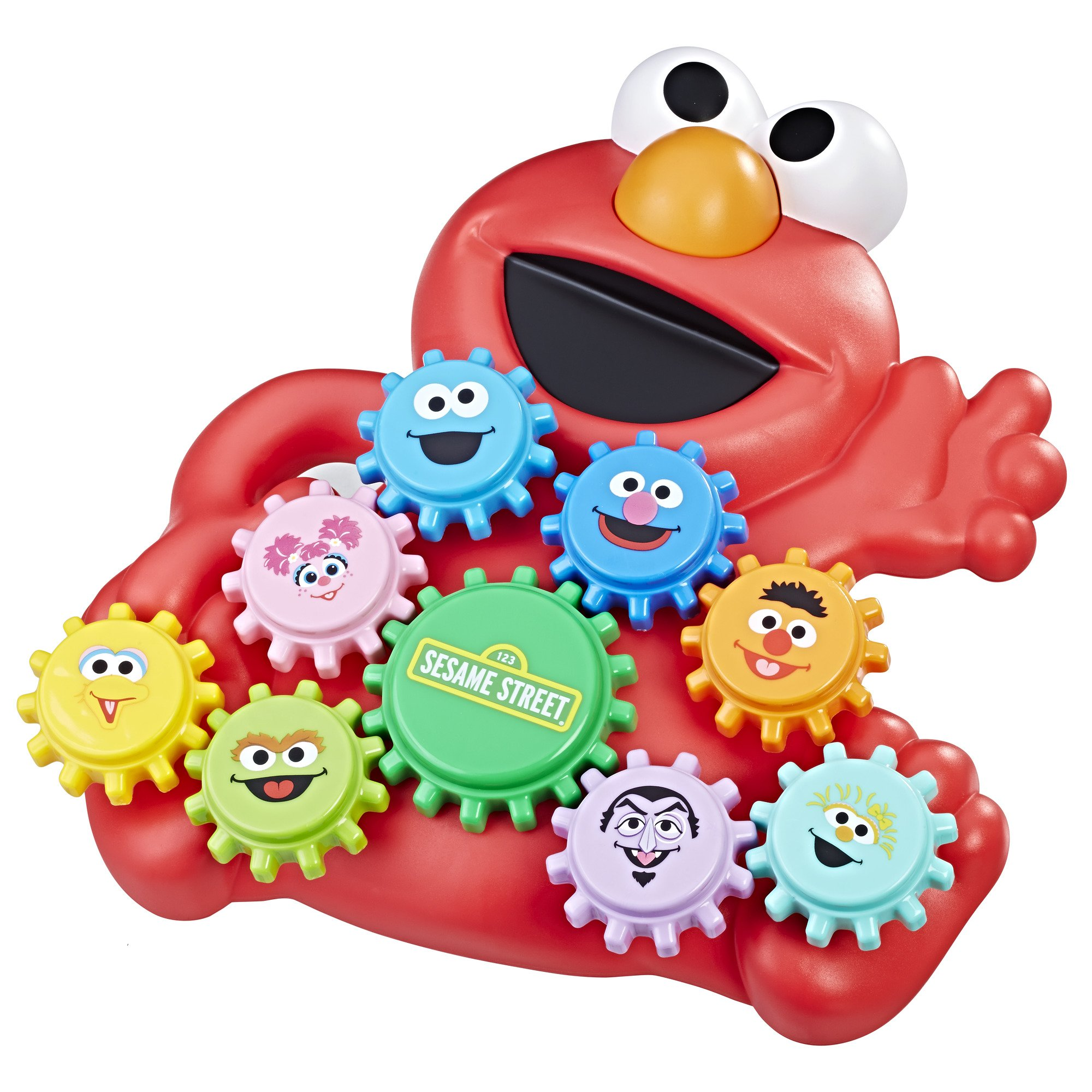 Friends Sesame Street Elmo and Friends Gear Play Kids Children Toy