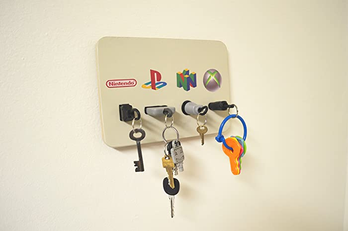 Amazoncom Video Game Plug Key Chain Holder Organizer Nintendo Nes