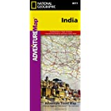 National Geographic India Map (National Geographic Adventure Map)