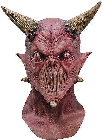 Máscara demonio boca cosida