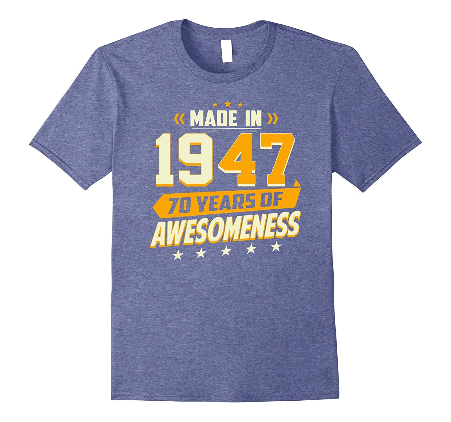a119ff1b6 70th Birthday Vintage T-Shirt 70 Year Old Men Women Gifts-ANZ ...