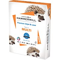 Hammermill Printer Paper, Premium Inkjet & Laser Paper 24 lb, 8.5 x 11 - 1 Ream (500 Sheets) - 97 Bright, Made in the…