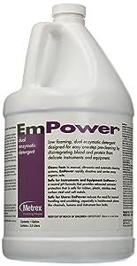Metrex 10-4100 EmPower Dual-Enzymatic Detergent, 1 gal Capacity