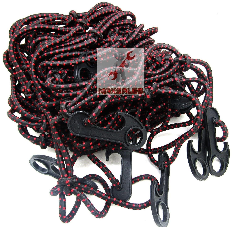 """(KaleidoScope)72"""" x 96"""" Pick Truck Trailer Cargo Bed Net Elastic Bungee w/ 28 Hooks Heavy Duty"""