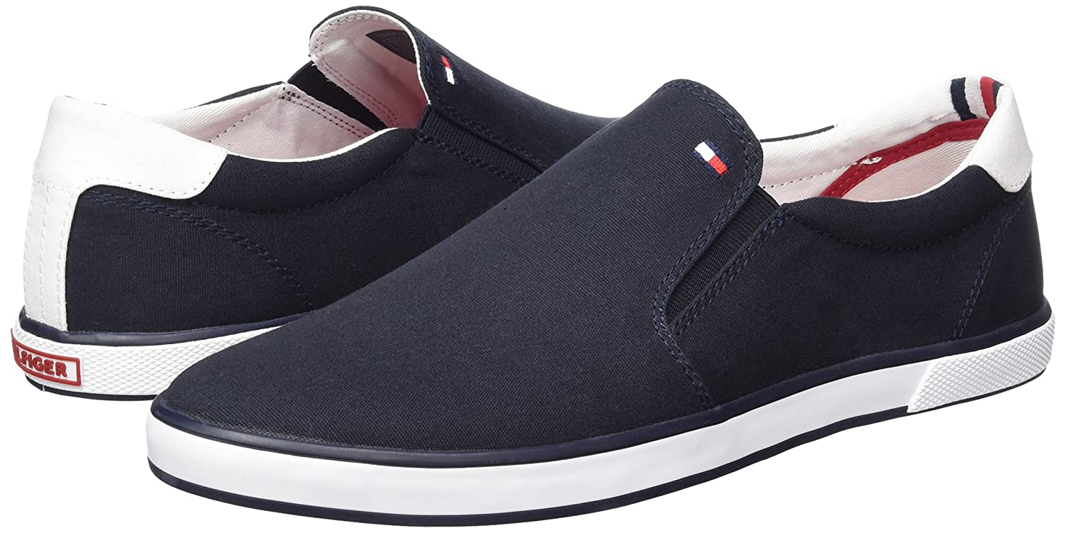 Tommy Hilfiger Herren Iconic Iconic Iconic Slip On Turnschuhe Low-Top  3475a8
