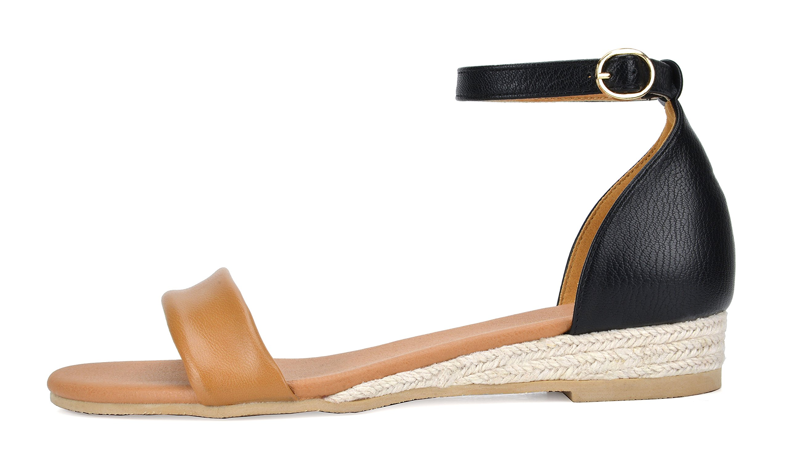 a1f7501403a22 Women FORMOSA_10 DREAM PAIRS Women's Low Wedge Sandals  DREAM PAIRS