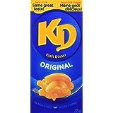 KD KRAFT DINNER - Original Macaroni & Cheese 225G, Pack of 4