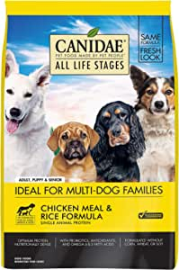CANIDAE All Life Stages, Premium Dry Dog Food, Chicken & Rice Formula