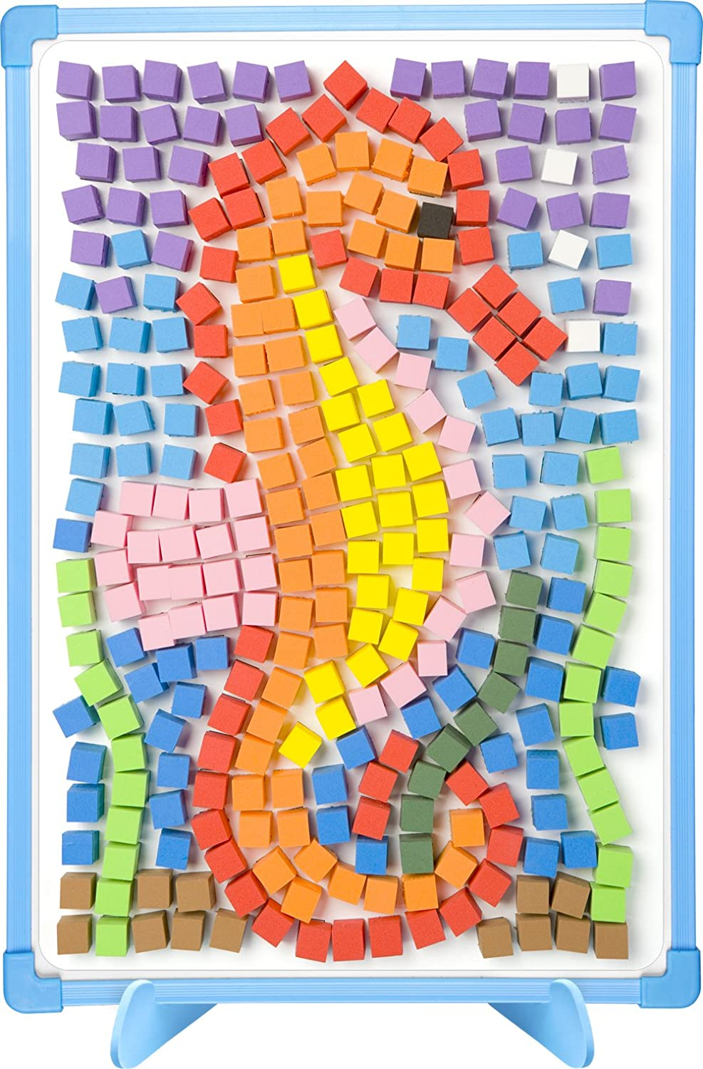 Kids mosaic splash banner thanksgiving platter mosaic for Roman mosaic templates for kids