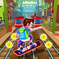 Rail Train Surfer Rush ��‍♀️