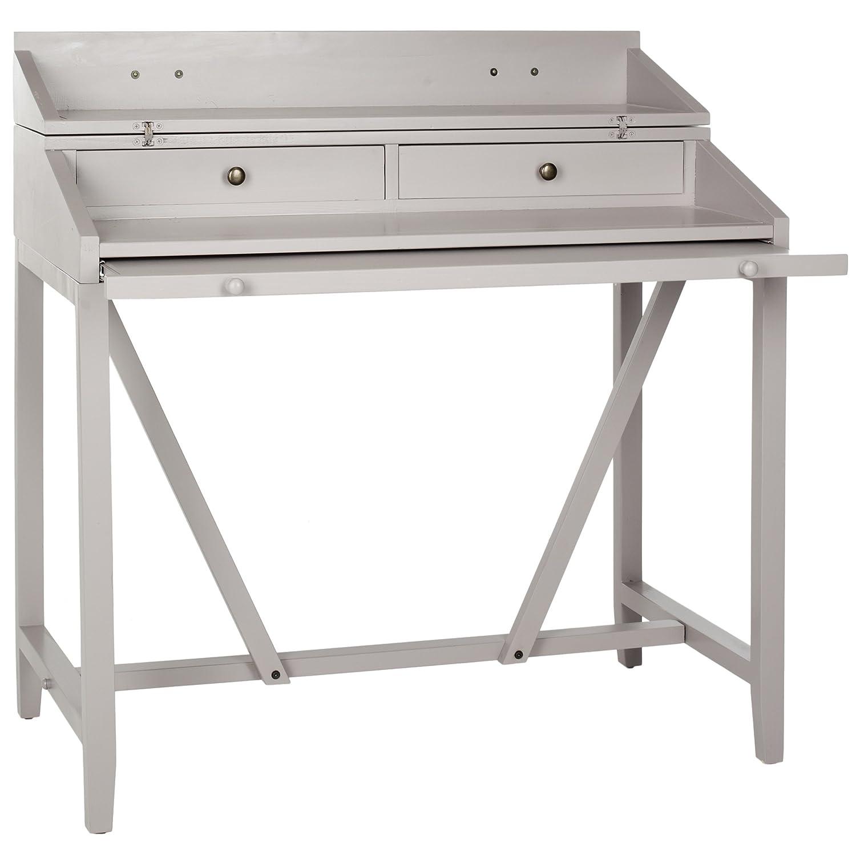 Amazon.com: Safavieh American Homes Collection Wyatt Grey Writing Desk:  Kitchen U0026 Dining