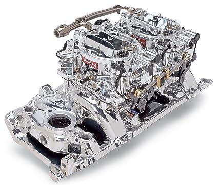 Amazon com: Edelbrock 20654 Manifold and Carburetor Kit