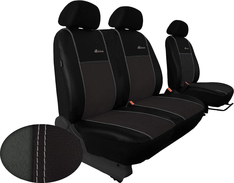 Pokter Alc Für Transit Custom 1 2 Ab 2013 Pkw Sitzbezüge Exklusive In Kunstleder Mit Alkantra Sitzfläche Auto