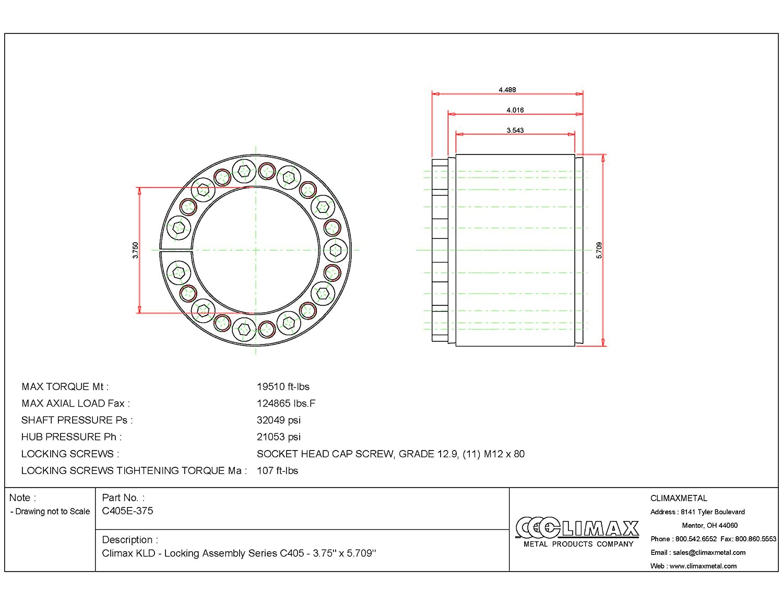 D/&D PowerDrive 442J23 Poly V Belt Rubber 23 Band