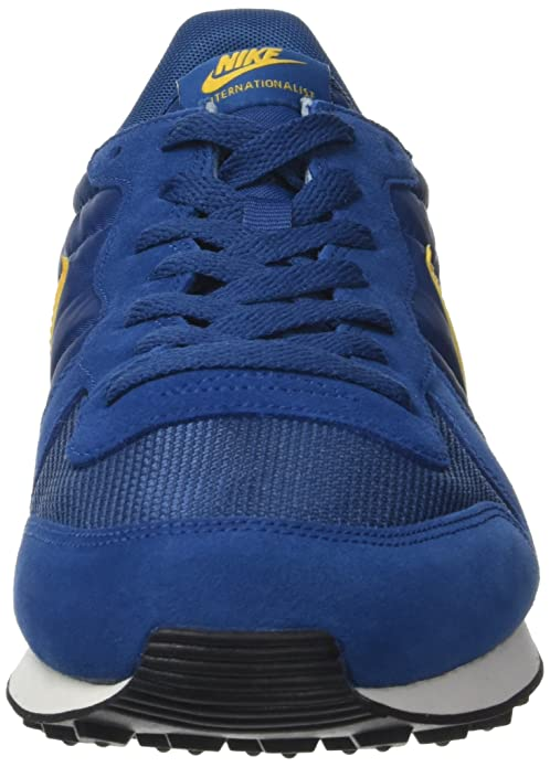 new product b465d 57d59 Nike Men s Internationalist Trainers, (Court Blue Del Sol Deep Marina Sail),  5.5 UK 38.5 EU  Amazon.co.uk  Shoes   Bags