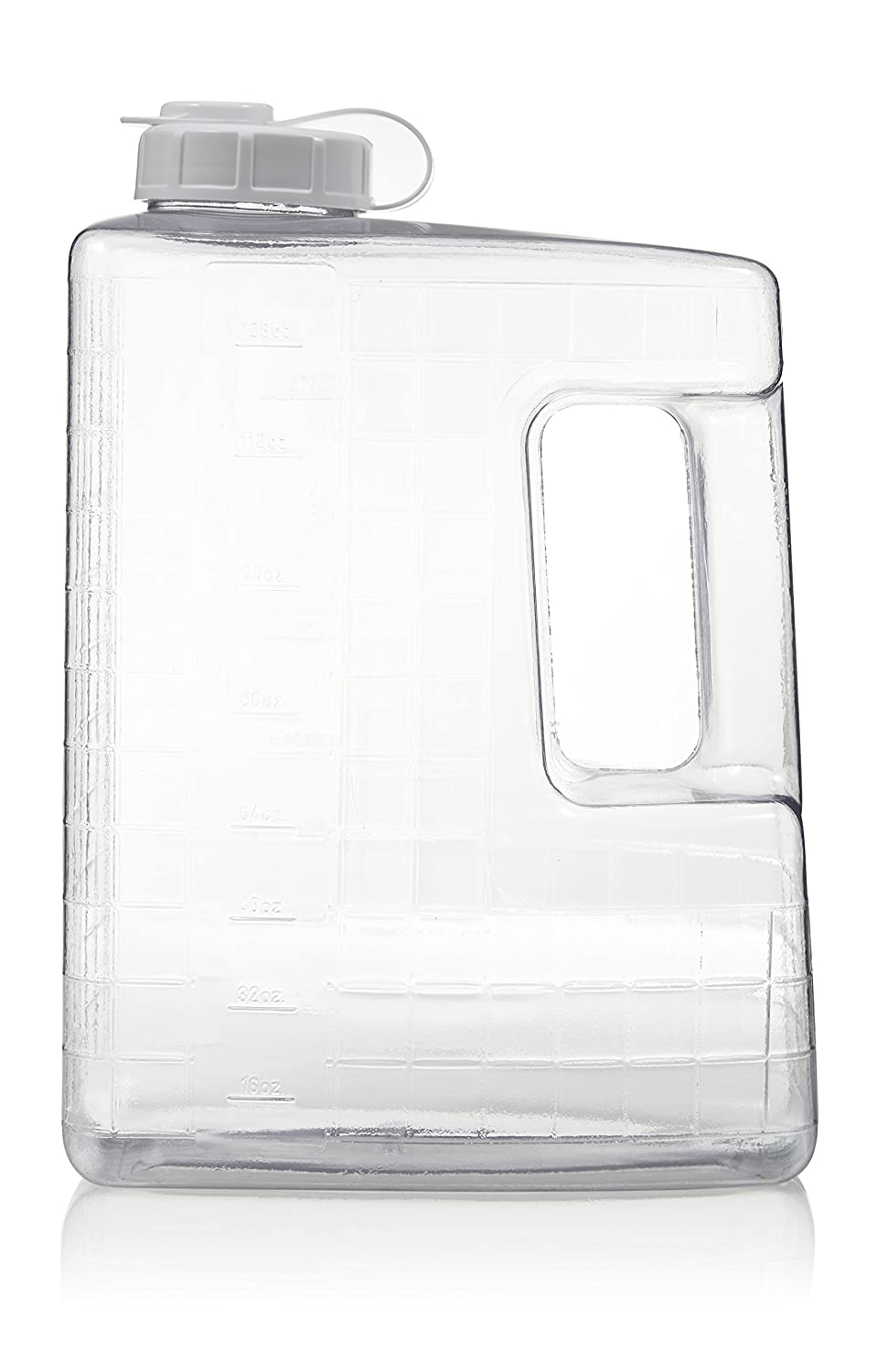 Arrow Home Products 00159 Gallon Refrigerator Bottle, Clear