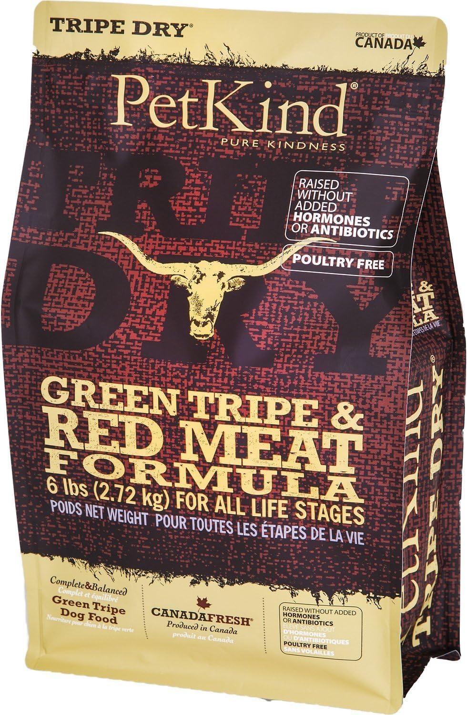 PetKind Tripe Red Meat Formula Dog Food 6 Pounds