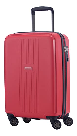 7e4463ad5009 HAUPTSTADTKOFFER - F-Hain - Carry on luggage Suitcase Hardside Spinner  Trolley 20¡° TSA, Red