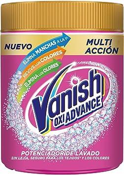 Vanish Vanish Oxi Advance - Quitamanchas Para La Ropa, Elimina Olores Y Revive Colores, En Polvo, Sin Lejía 800 g: Amazon.es: Salud y cuidado personal