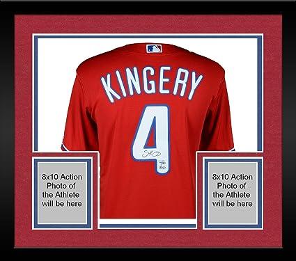 finest selection 7446a 34436 Framed Scott Kingery Philadelphia Phillies Autographed ...