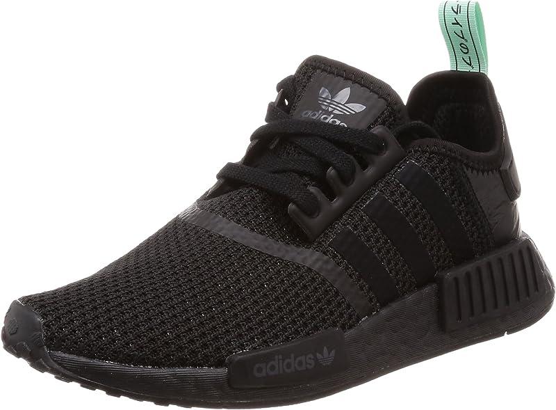 adidas NMD R1 Sneakers Laufschuhe Damen komplett Schwarz