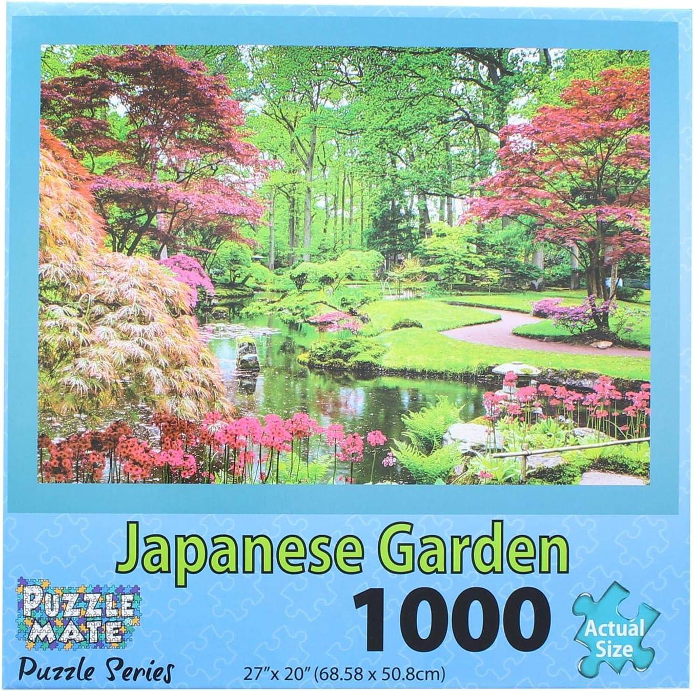 Puzzle Mate - Japanese Garden - 1000 Piece Jigsaw Puzzle