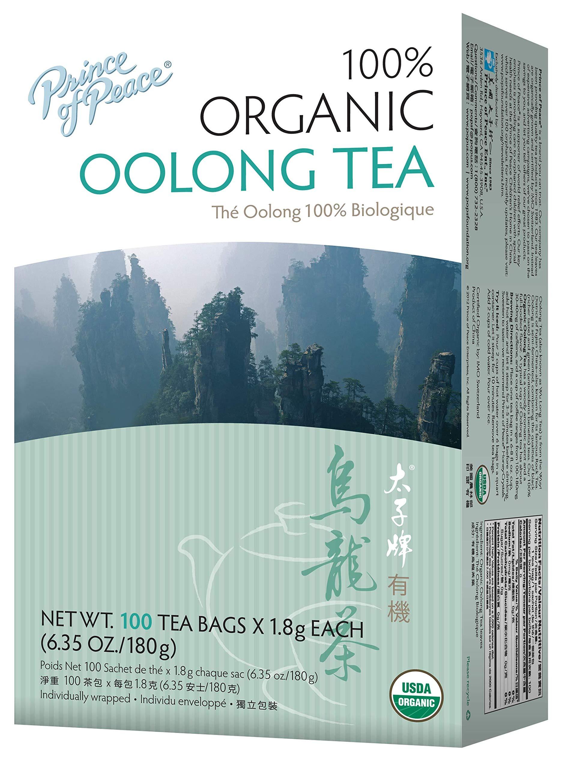 Prince of Peace Organic Oolong Tea 100 ct