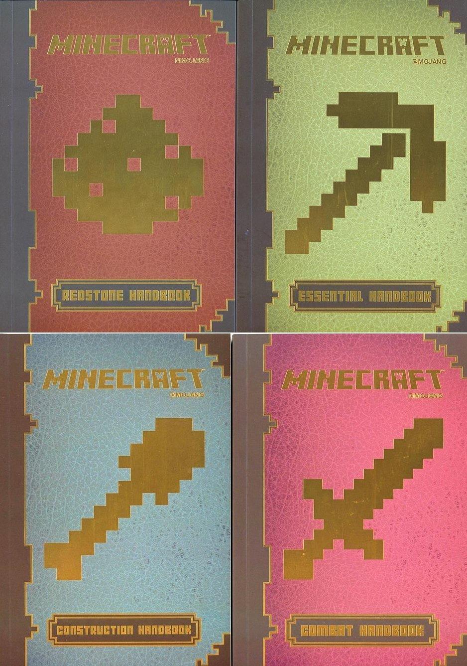 Minecraft? Handbook Pack 4 Ct. : Minecraft?: Essential Handbook ...
