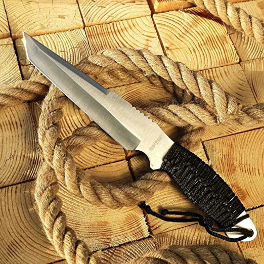 Amazon Com Grand Way Tactical Survival Throwing Paracord Knife