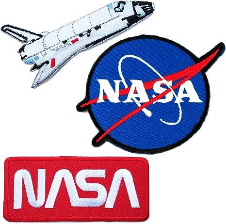 Paquete de 3 parches de aplicación de parches de NASA Space ...