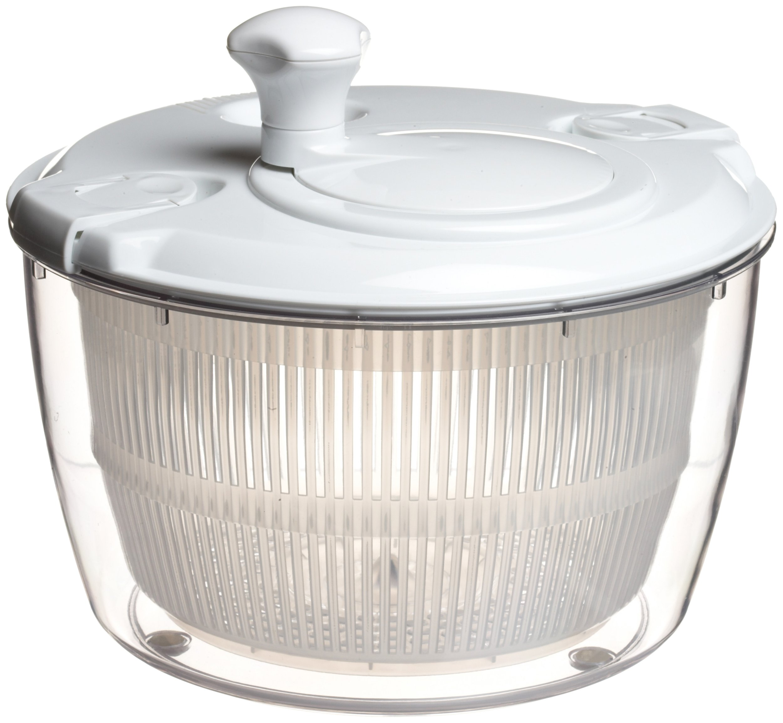 Xtraordinary Home Products Large Salad Spinner, White