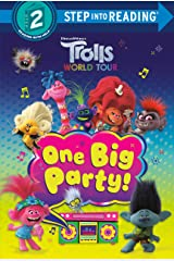 One Big Party! (DreamWorks Trolls World Tour) (Step into Reading) Kindle Edition