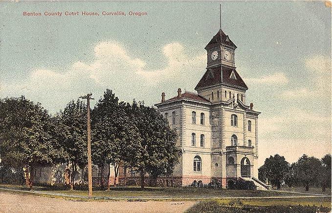 Benton County Court House, Corvallis, Oregon Antique
