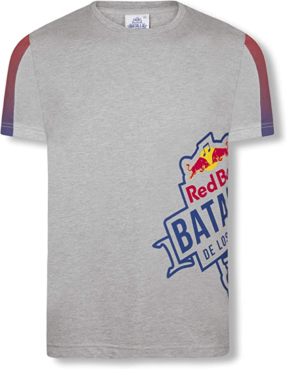 Red Bull Batalla Transverse Camiseta, Gris Hombre X-Large Top ...