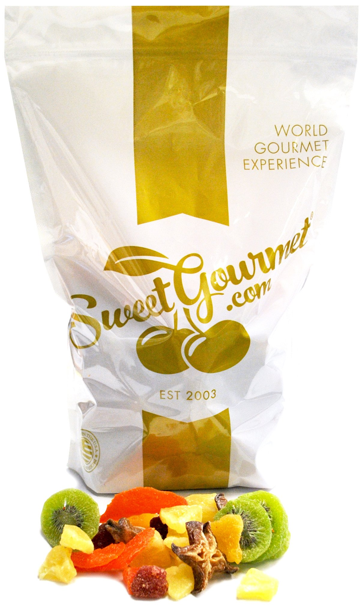 SweetGourmet Tropical Dried Fruit Salad (5Lb) by SweetGourmet (Image #1)