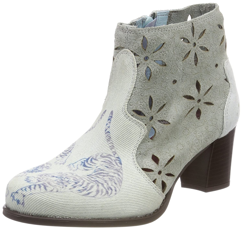 Desigual Shoes_Cris Tigers, Botines para Mujer Azul (5092 Starlight Blue)