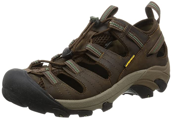 KEEN Men's Arroyo II Hiking Sandal,Slate Black/Bronze Green,8 M US best men's supportive sandals